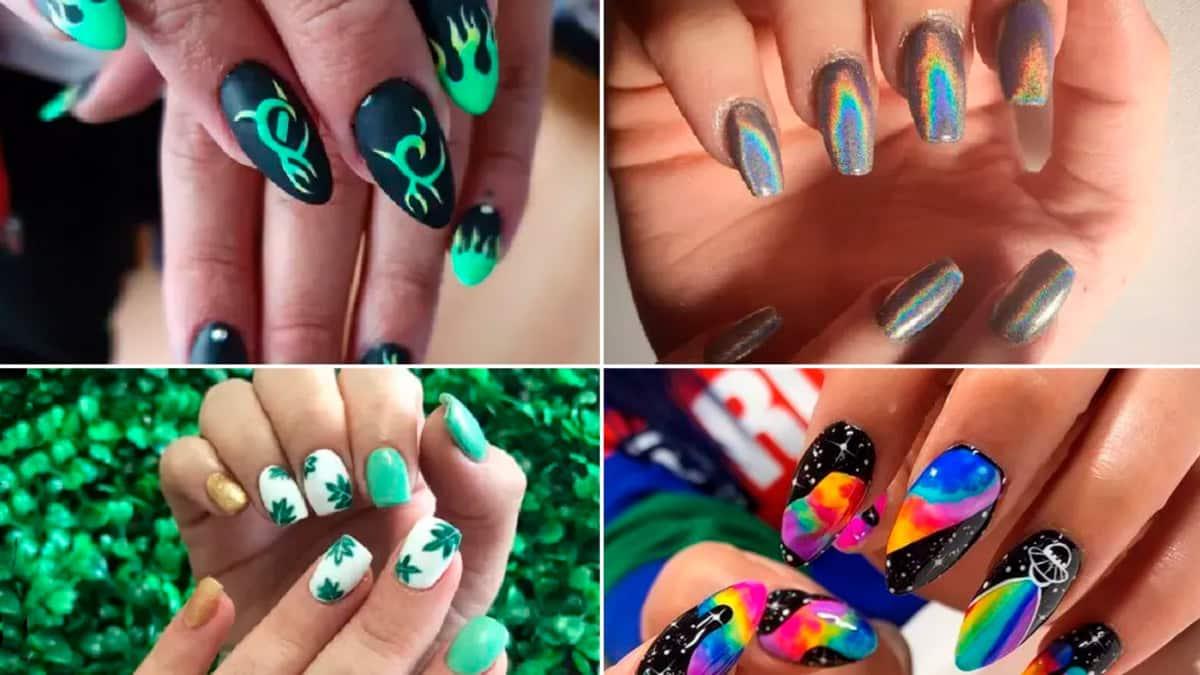 Sognando diversi tipi di unghie