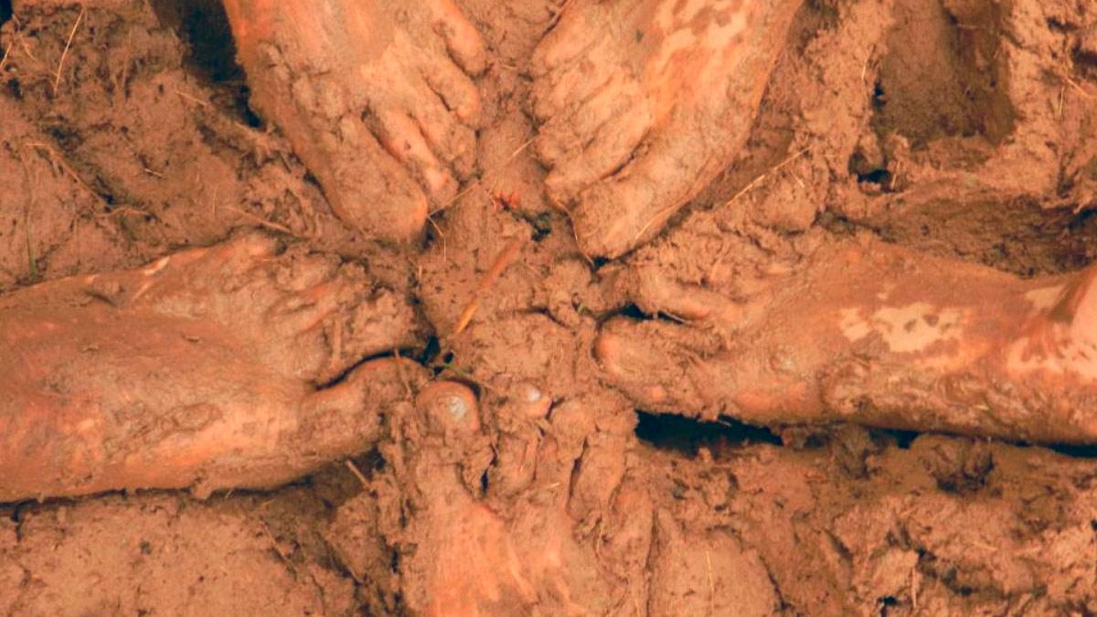 sognare con il fango