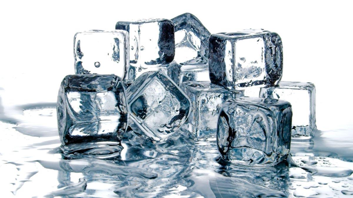 sognare con il ghiaccio