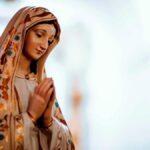 sognare la Vergine Maria