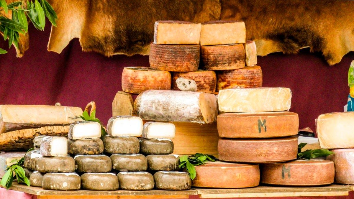 sognare il formaggio